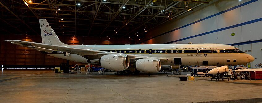 NASA DC-8 research aircraft